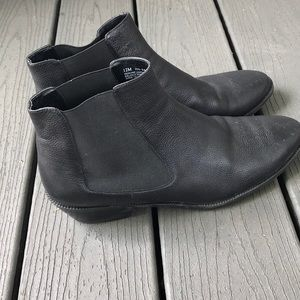 14th & Union Leather Ankle Booties